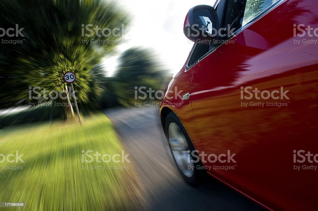 Speed Limit royalty-free stock photo