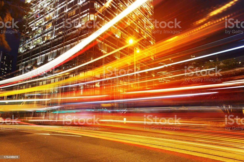 Speed of Light stock photo