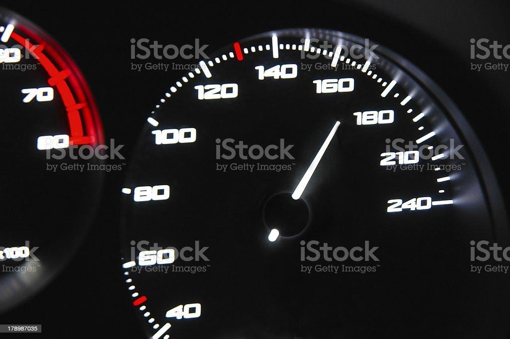 Speed royalty-free stock photo