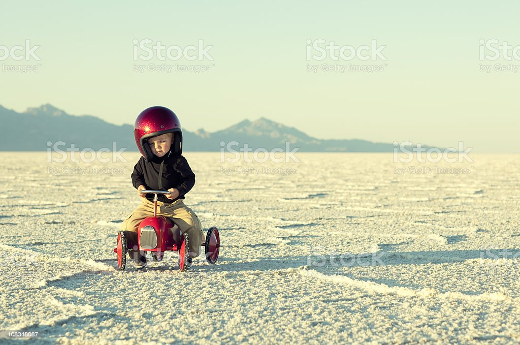 Speed Racer stock photo