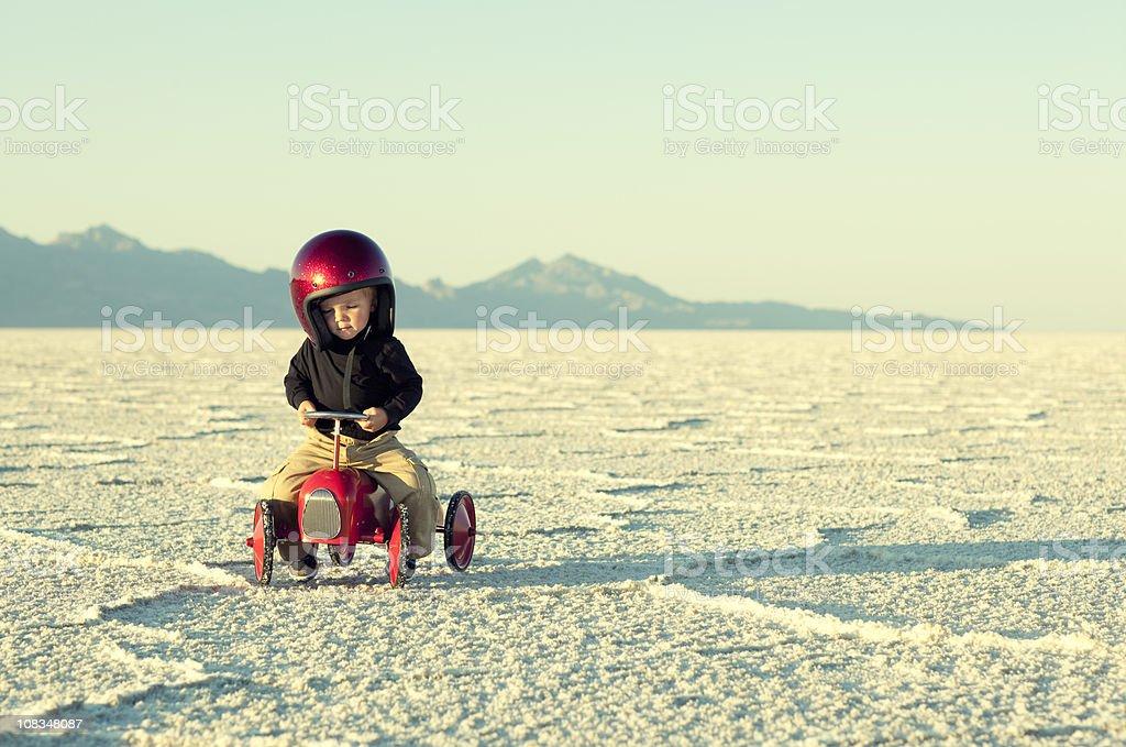 Speed Racer stock photo