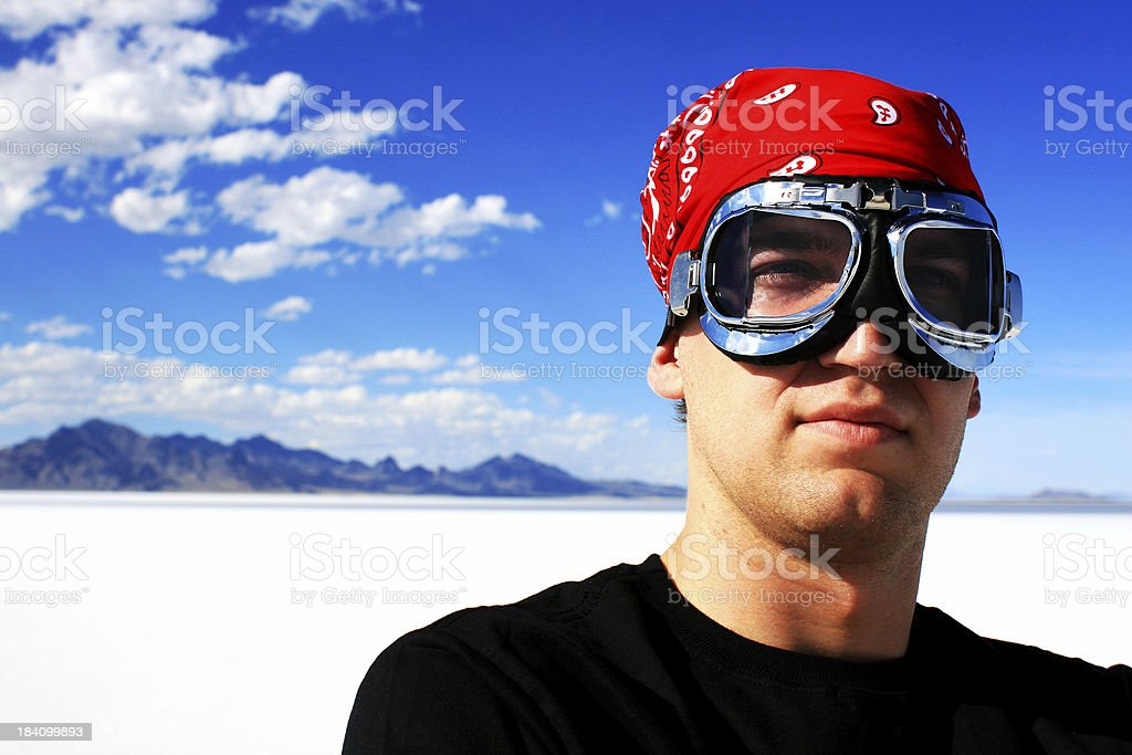 Speed Racer royalty-free stock photo