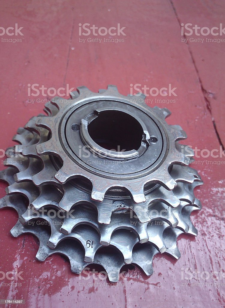 Speed Road Cassette royalty-free stock photo
