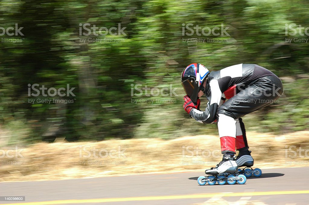 Speed Roller stock photo