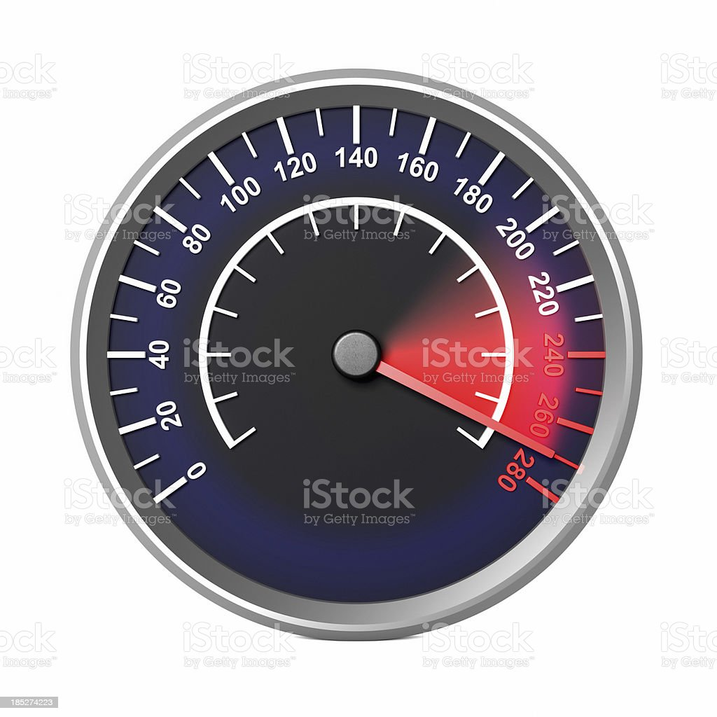 Speed Speedometer royalty-free stock photo