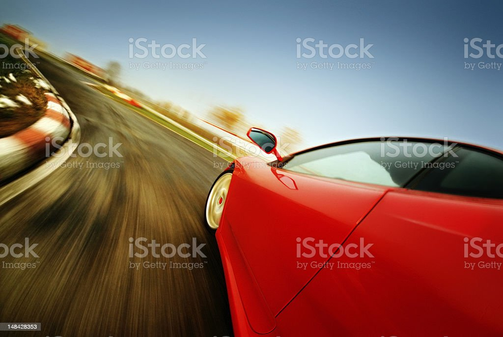 Speed Test stock photo
