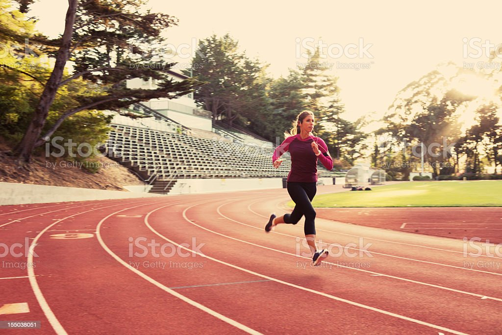 Speed Training royalty-free stock photo