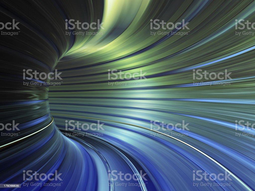 speed tunnel stock photo