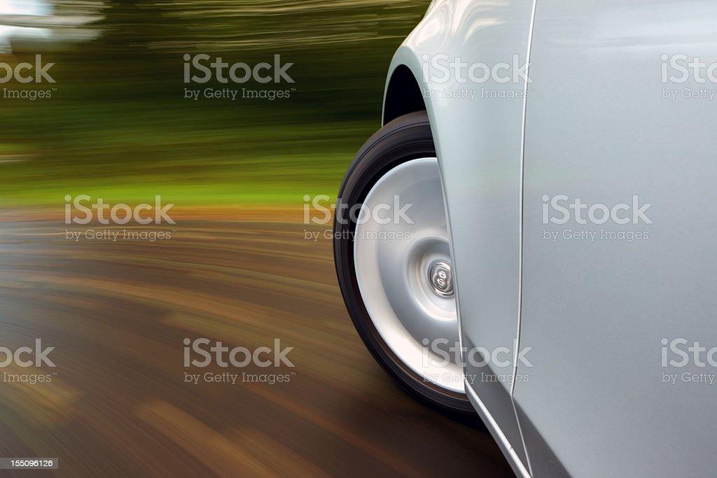 Speed Turn stock photo
