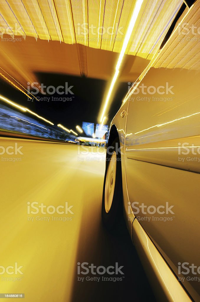 Speed Turn royalty-free stock photo