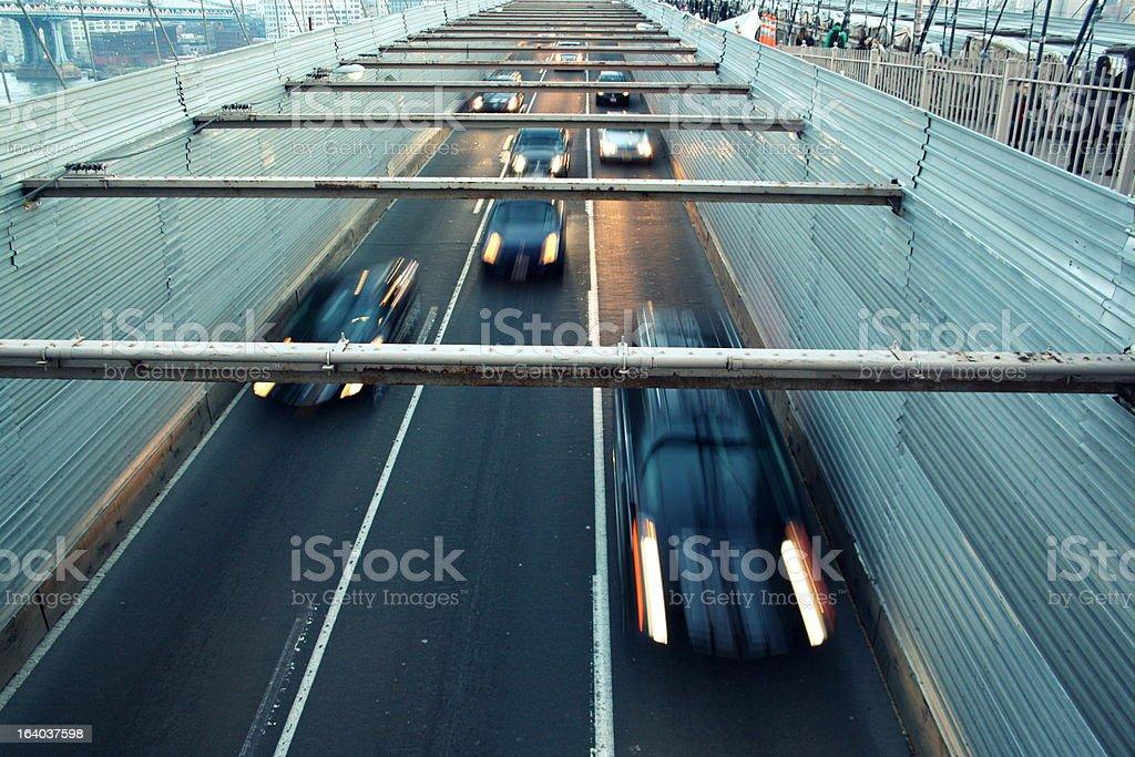 Speeding Cars royalty-free stock photo