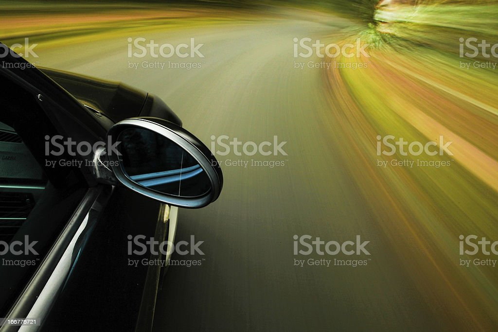 Speeding stock photo