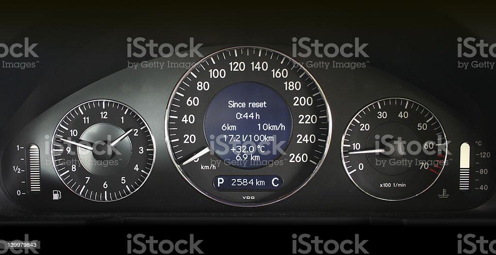 Speedometer 3 royalty-free stock photo