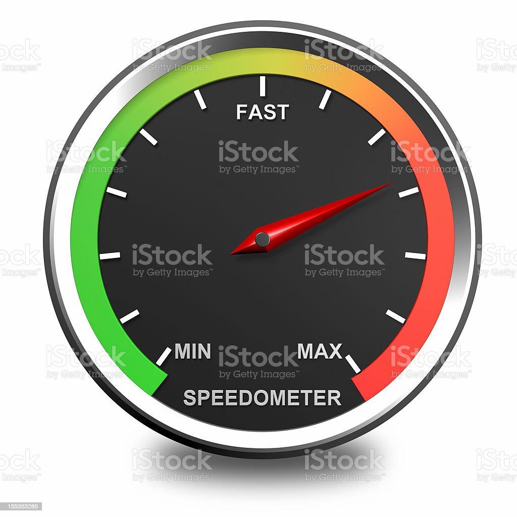 Speedometer Icon stock photo