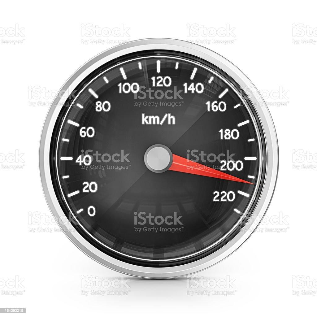 speedometer stock photo