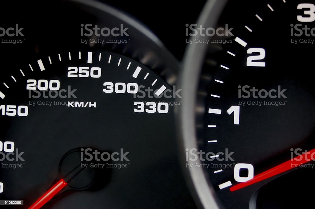 Speedometer royalty-free stock photo