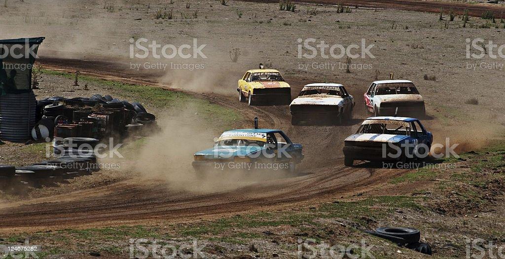 Speedway royalty-free stock photo