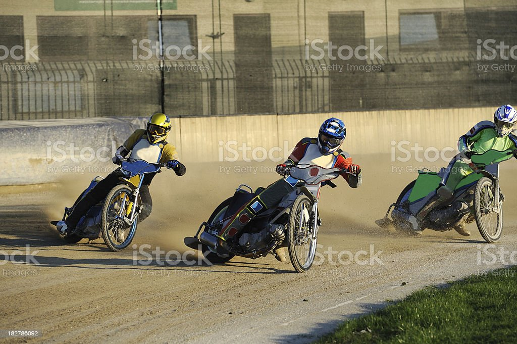 Speedway race royalty-free stock photo
