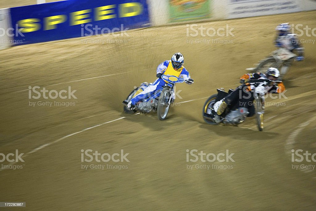 Speedway Race Three royalty-free stock photo