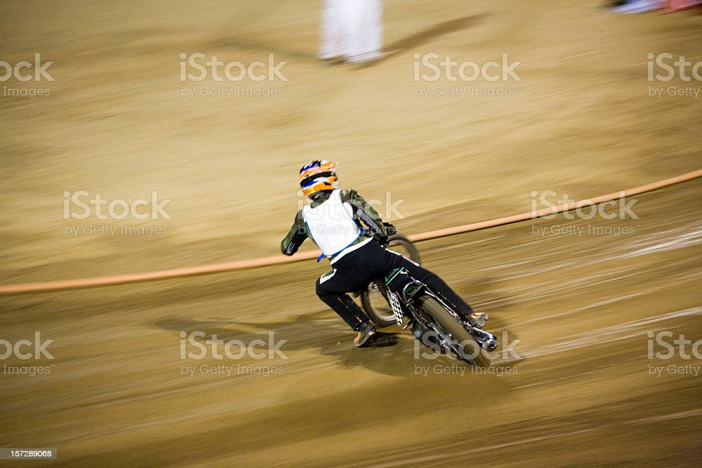 Speedway Solo royalty-free stock photo