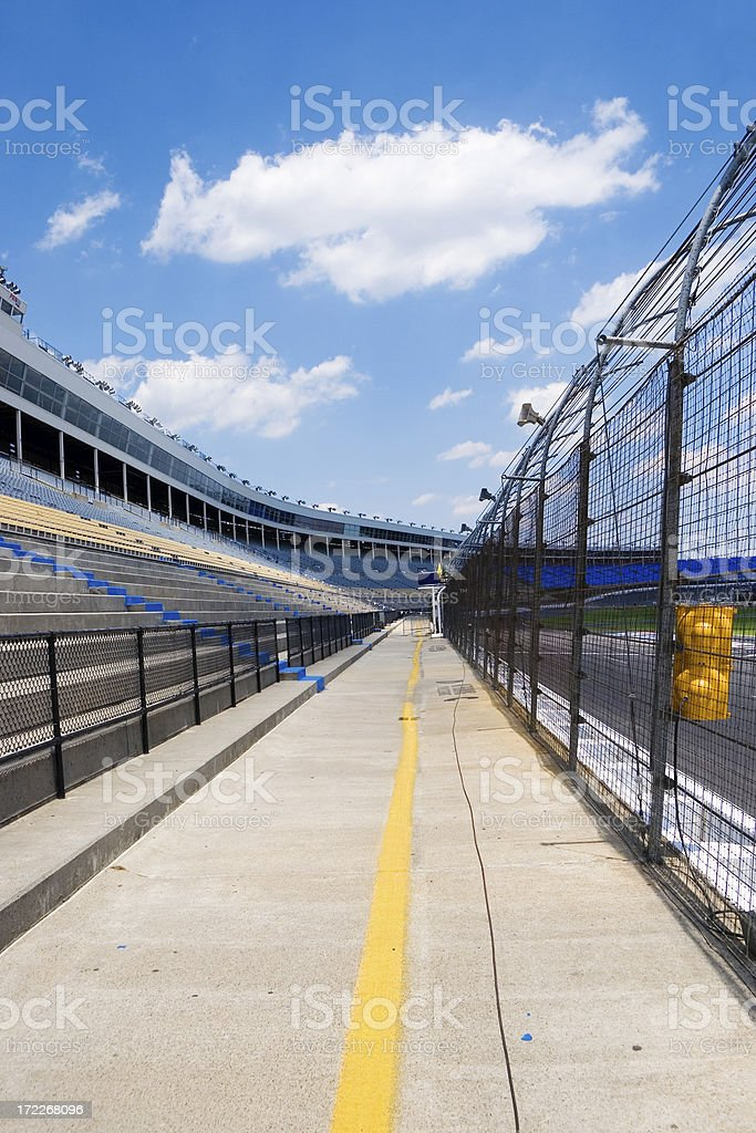 Speedway stands royalty-free stock photo