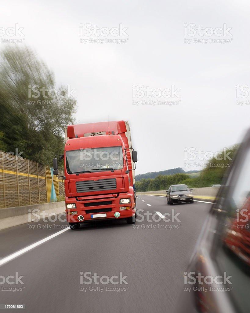 Speedy Delivery of Goods stock photo