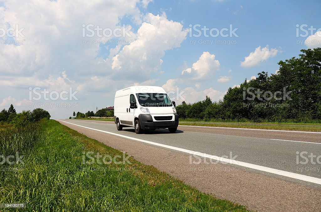 Speedy delivery stock photo