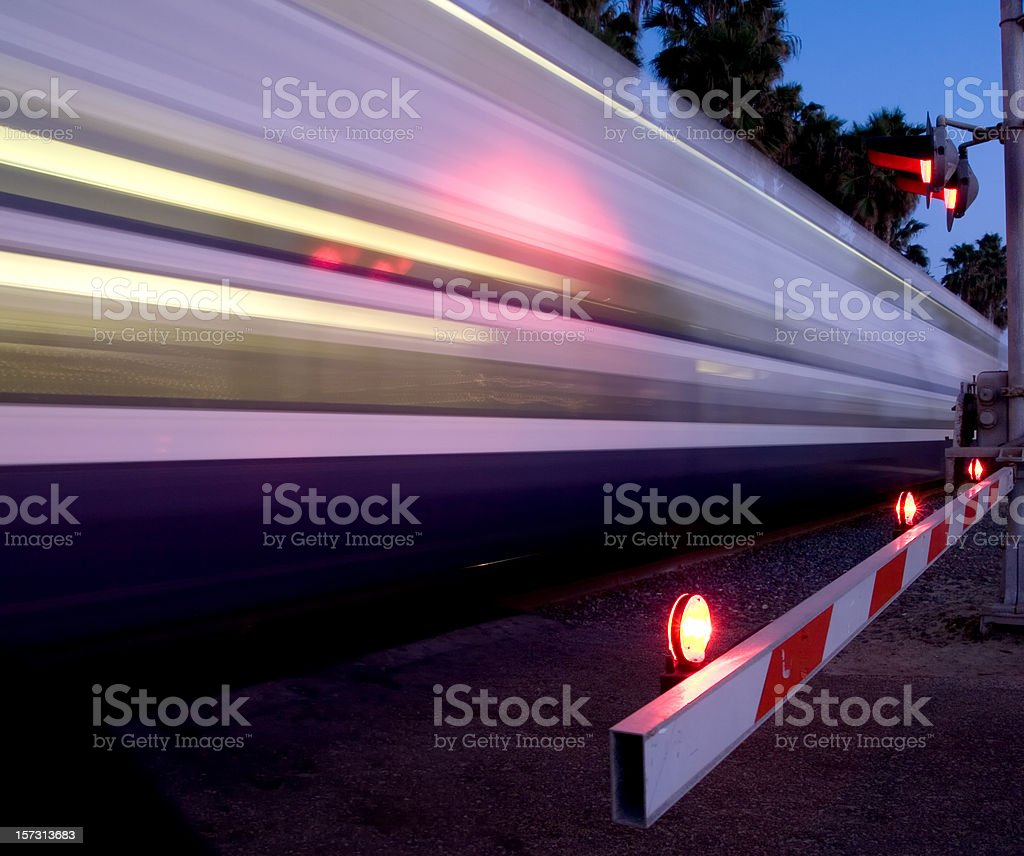 Speedy Train stock photo