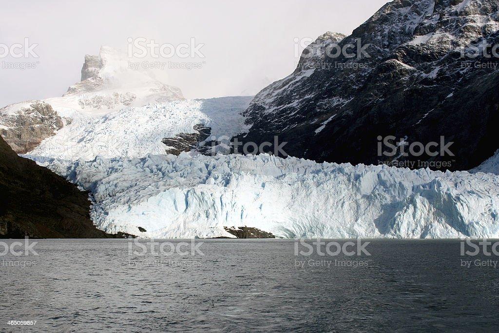 Spegazzini Glacier, Patagonia, Argentina stock photo