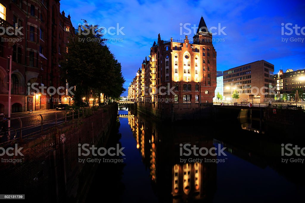 Speicherstadt royalty-free stock photo