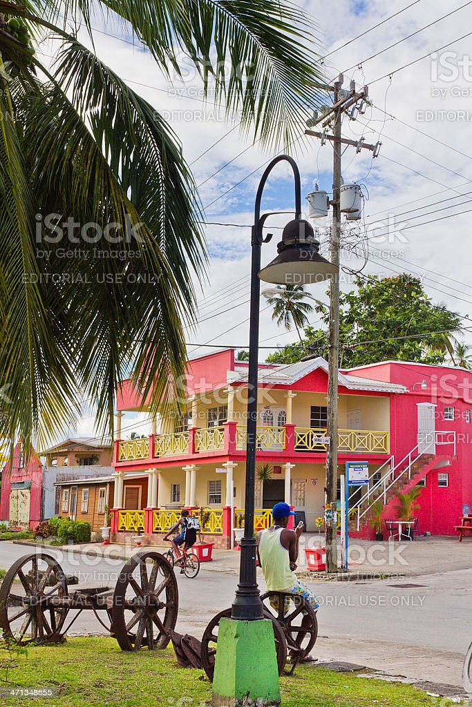 Speightstown, Barbados royalty-free stock photo