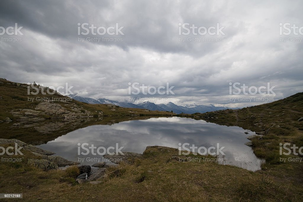 Speikboden see royalty-free stock photo