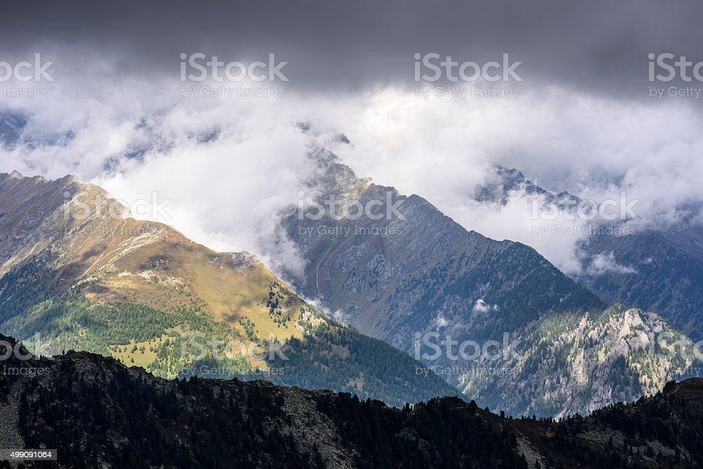 Speikboden, Zillertal Alps, European Alps stock photo