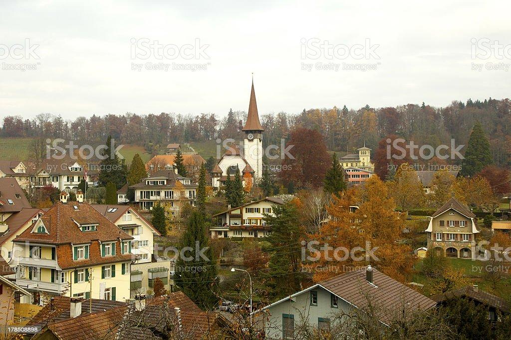 Speiz, Switzerland stock photo