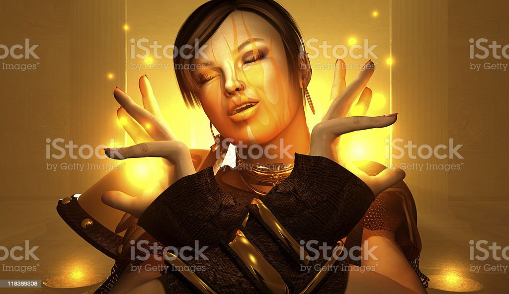 Spell Craft royalty-free stock photo