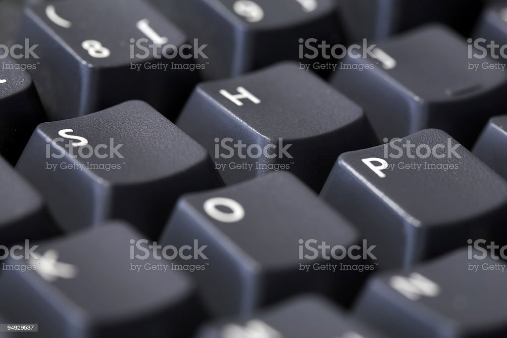 SHOP spelled on keyboard royalty-free stock photo