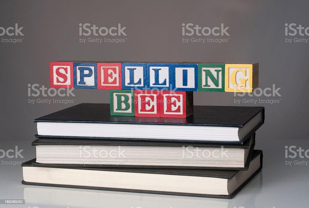 Spelling Bee stock photo