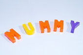spelling from plastic letters