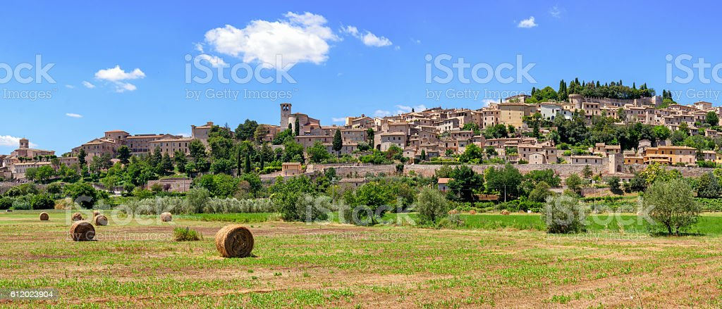 Spello (Umbria Italy) stock photo