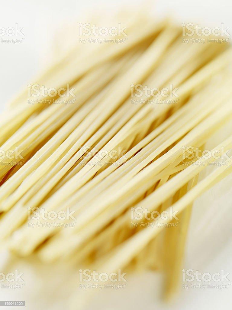 Spelt Wheat Spaghetti royalty-free stock photo