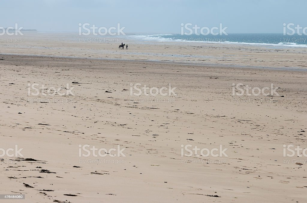 Spend the day at the beach royalty-free stock photo