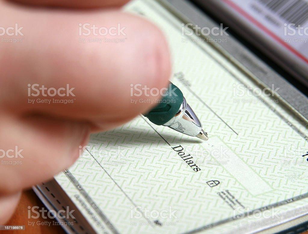 Spending Money stock photo