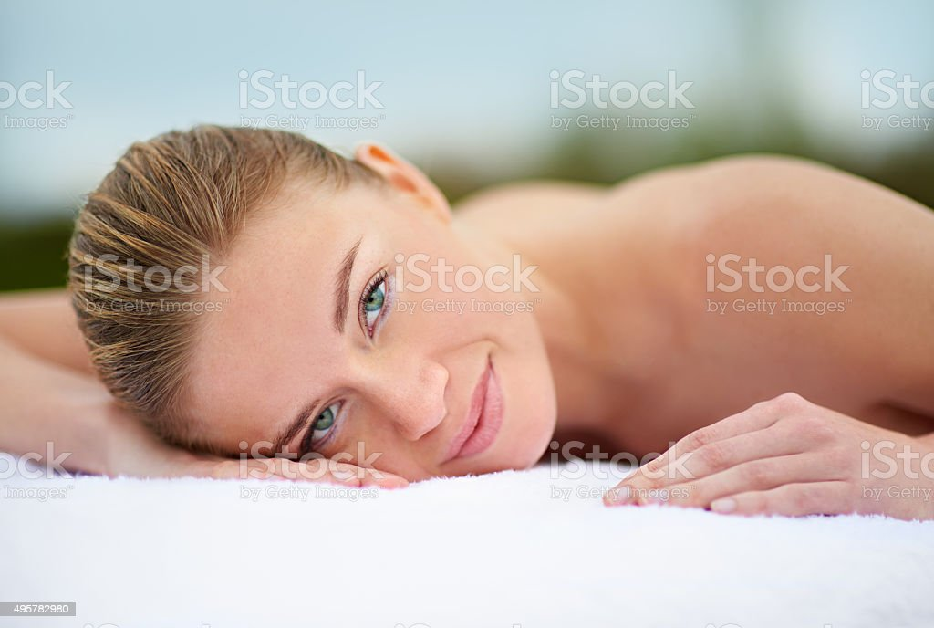 Spending some quality time with myself stock photo