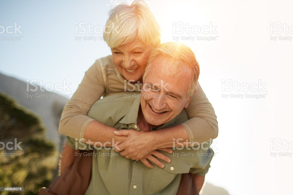 Spending time together is priceless stock photo