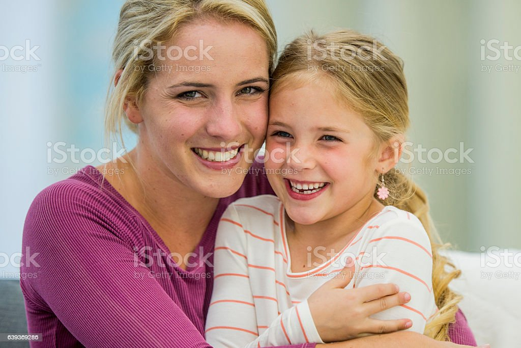 Spending Time Together on Mother's Day stock photo