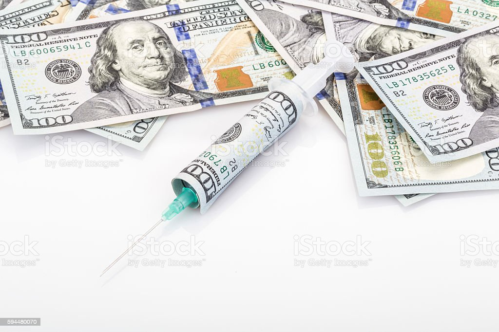 spends for health stock photo