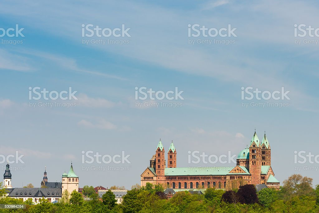 Speyer Cathedral stock photo