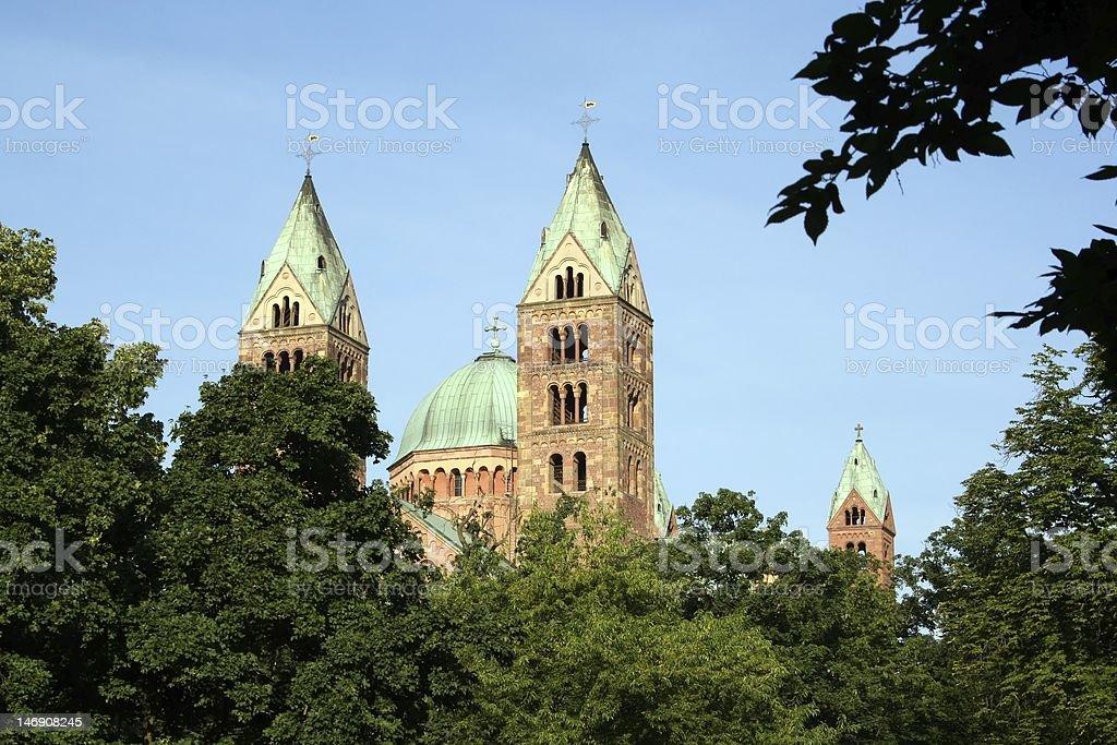 Speyer, Kaiserdom stock photo