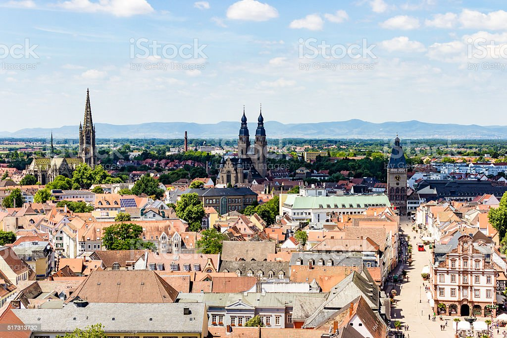 Speyer sightseeing stock photo