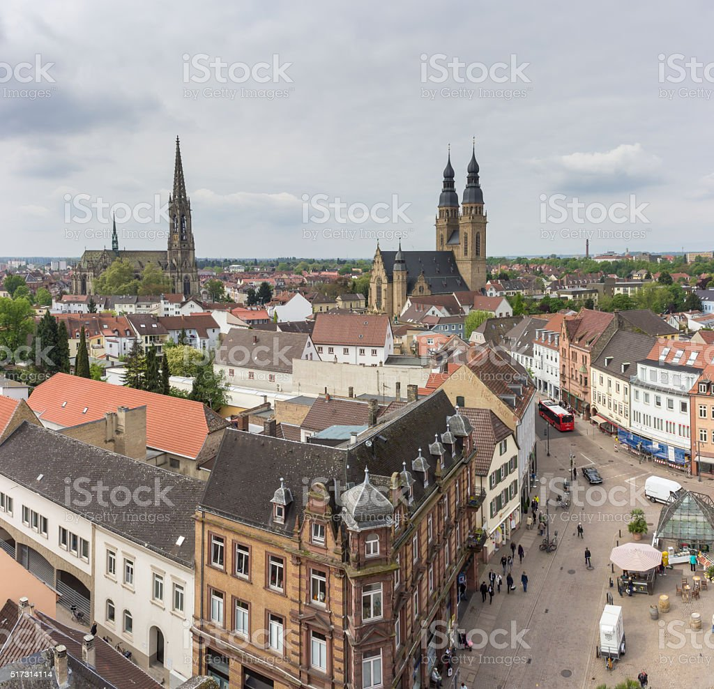 Speyer sightseeing stock photo